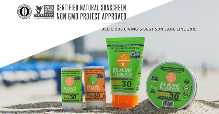 Raw Elements Sunscreen - Proud retailer of Raw Elements Sunscreen an industry pioneer. A non-gmo project approved, Leaping Bunny Certified, EWG #1 RATED, Natural Products Association Certified, Made In USA And More.