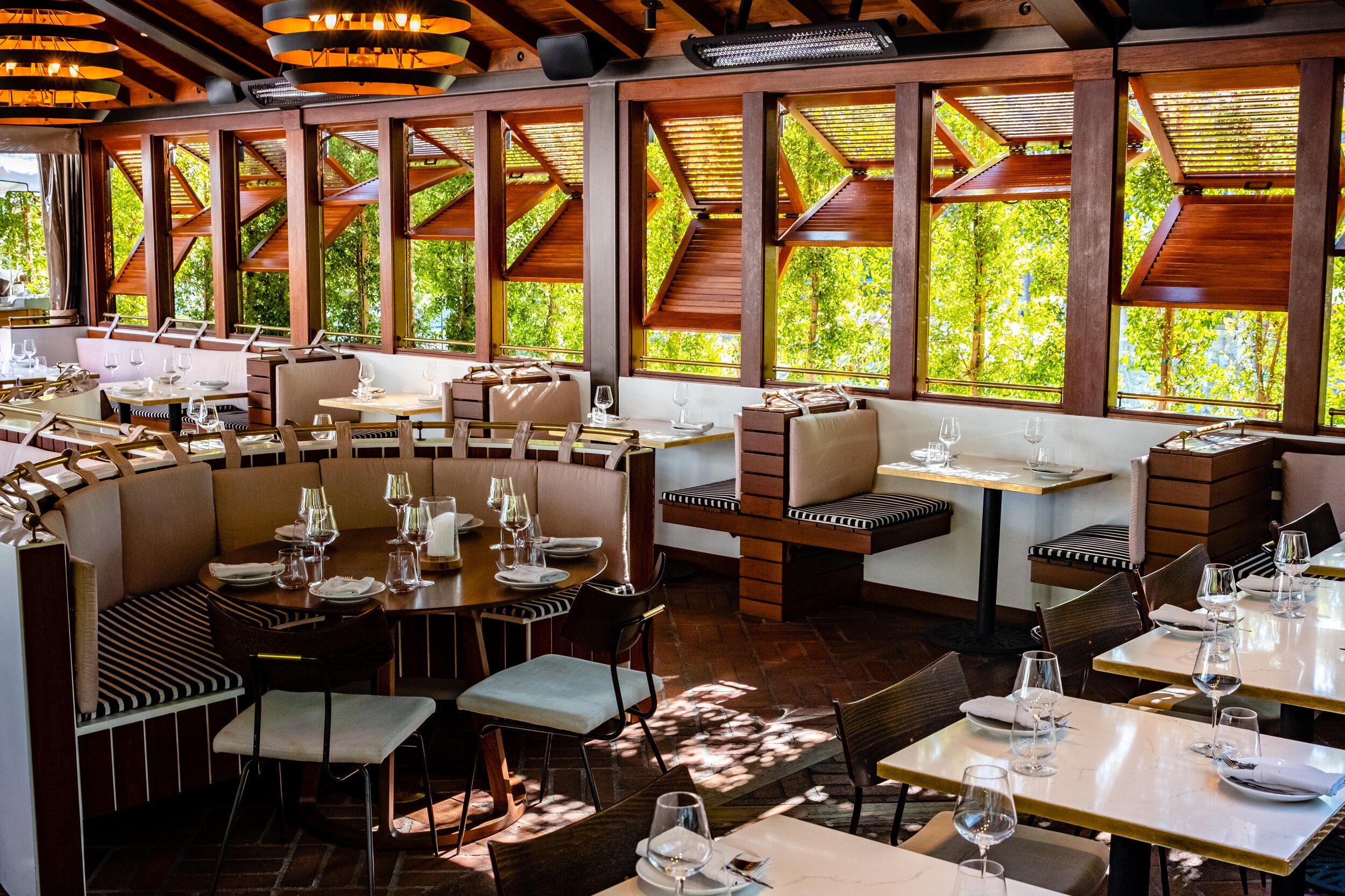 The main dining room at Conservatory