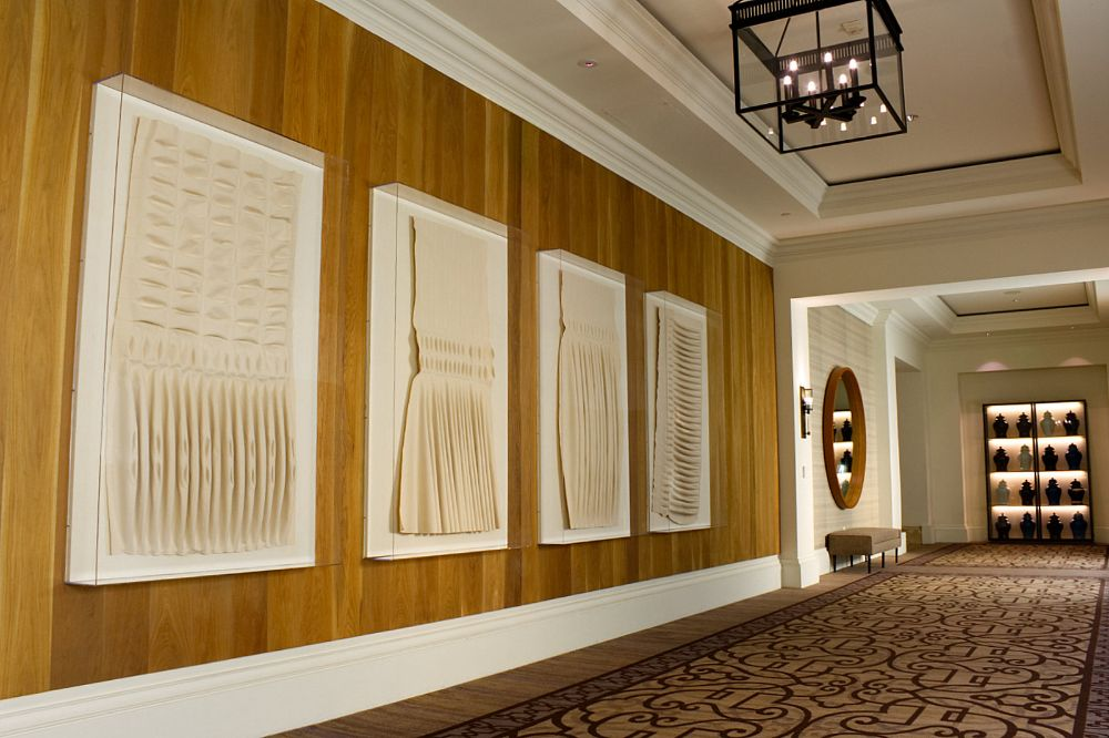 """Ards"" commissioned for the Monarch Beach Resort in Dana Point, CA by art advisor Anne Mennealy and Danielle Fox from Rodrigo Vargas Design."