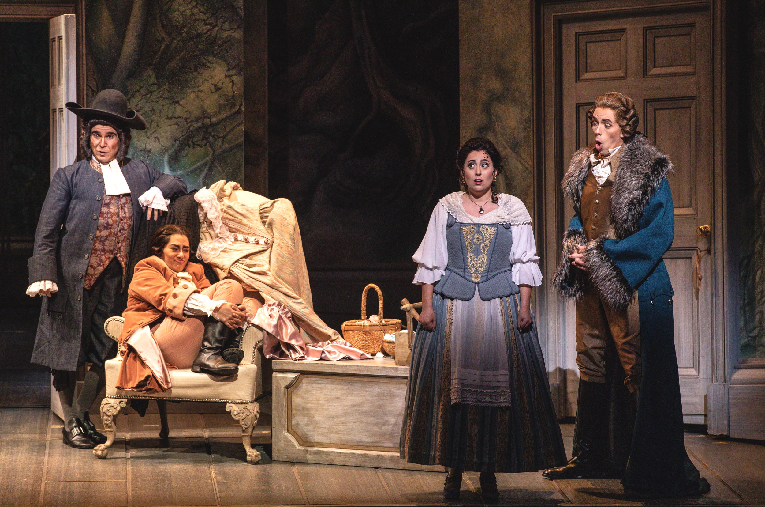 Susanna - Le nozze di Figaro  Florida Grand Opera, 2019  Photo by Daniel Azoulay