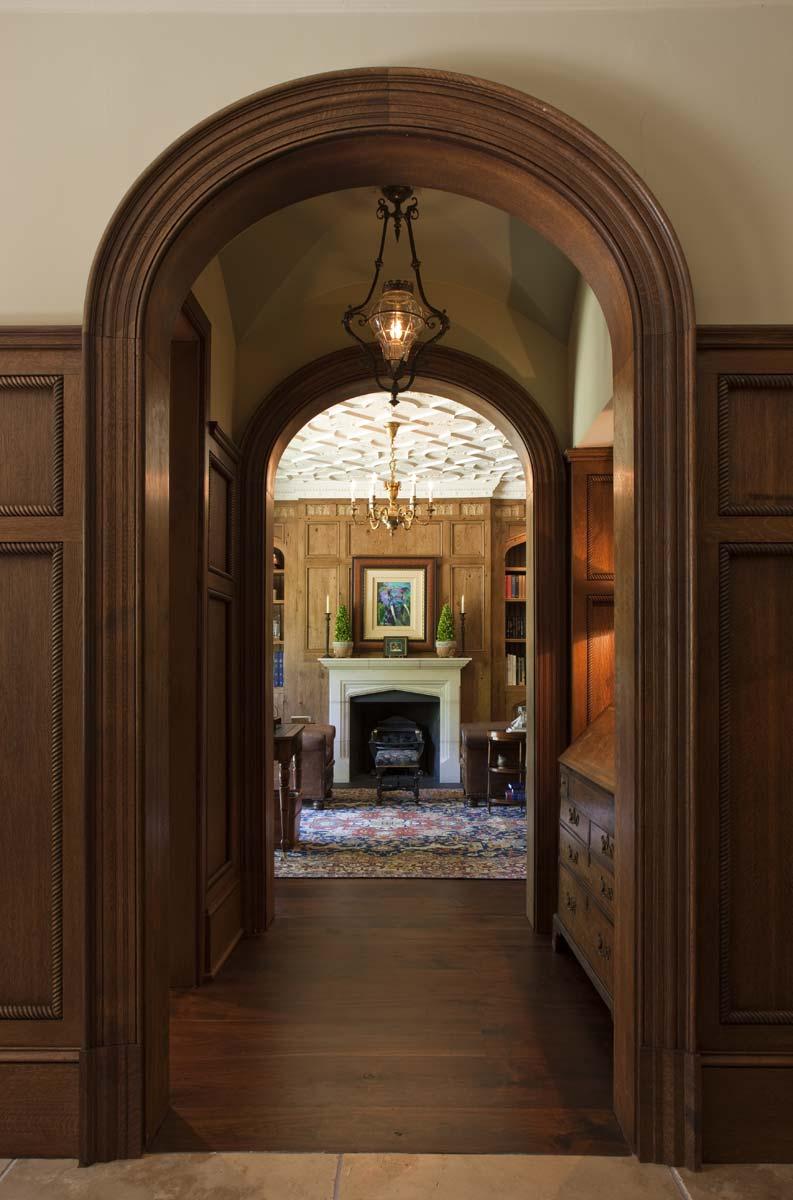 Graggamoore Estate Study Fireplace