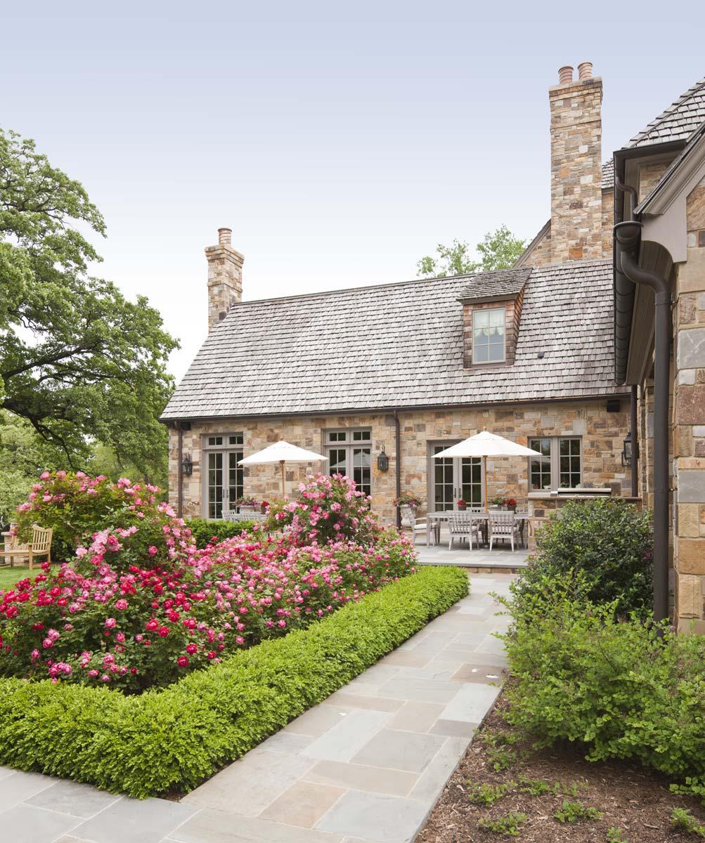 Stoneleigh Manor Rear Terrace