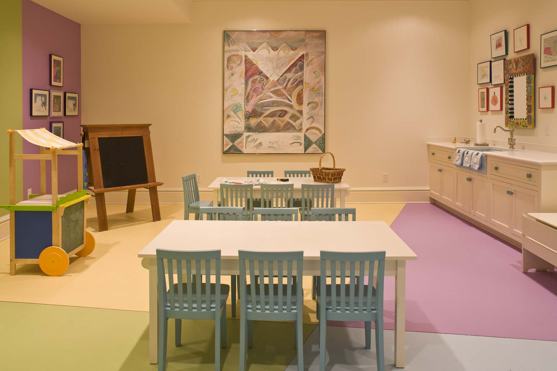Stoneleigh House Children's Art Room