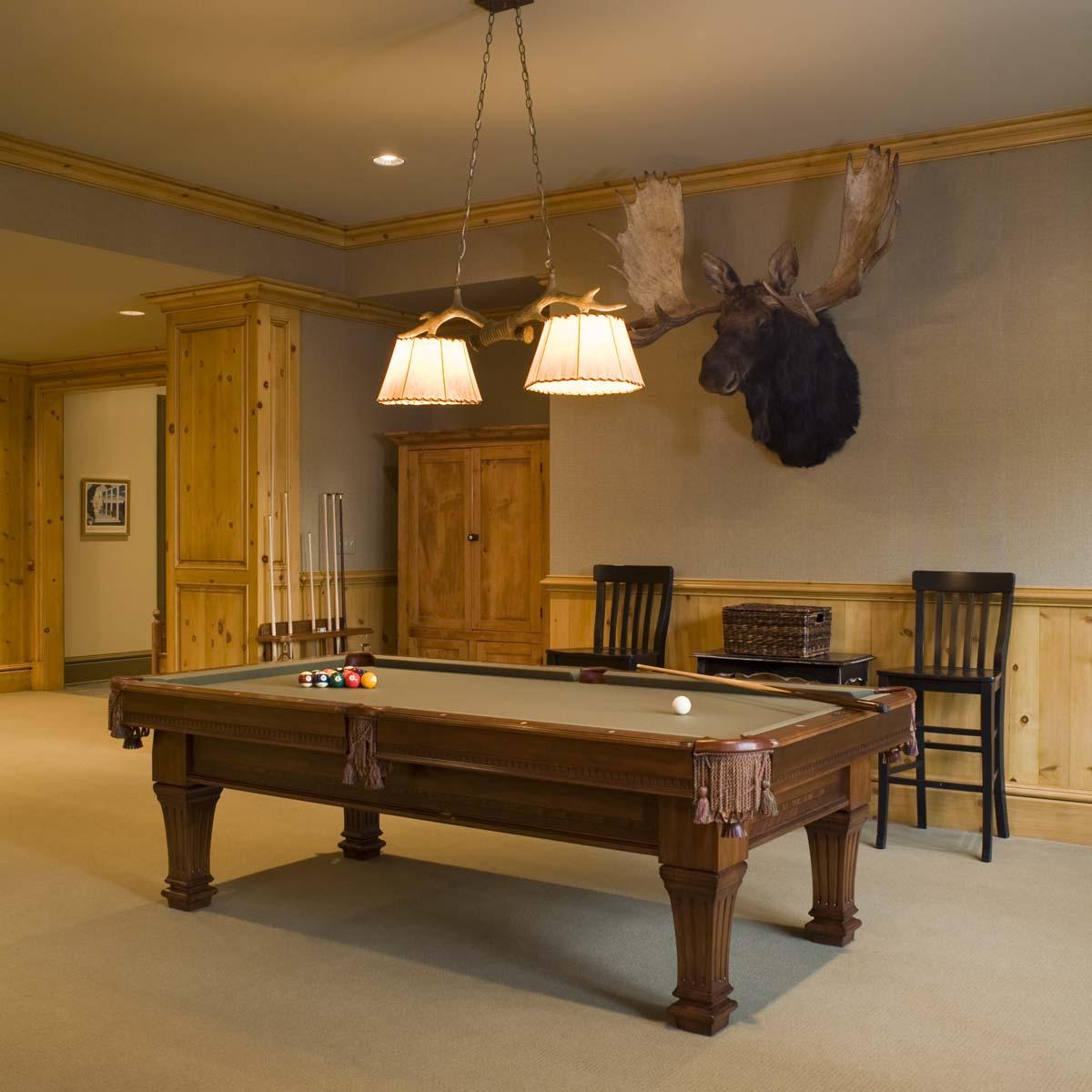 Stoneleigh House Billiard Room