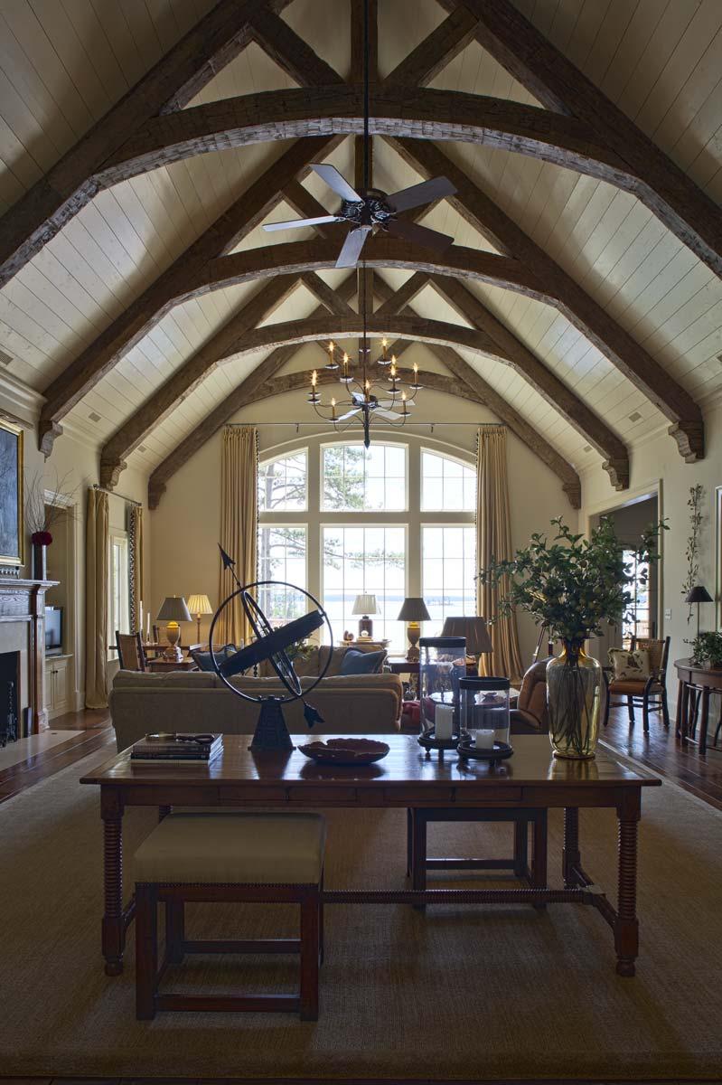 South Carolina Lake House Great Room