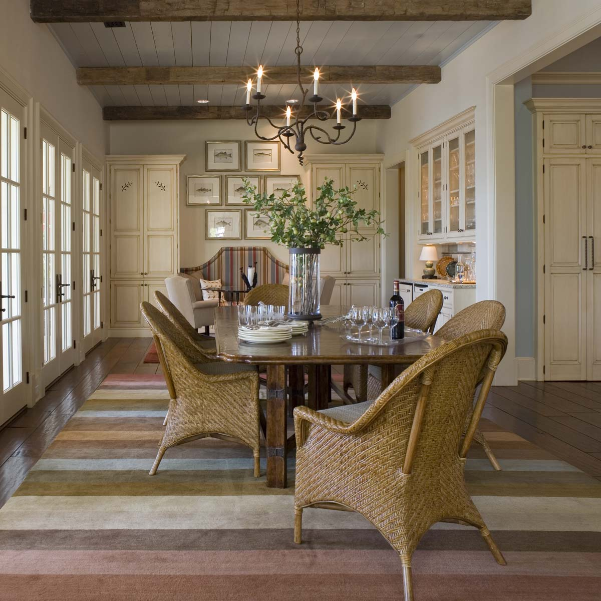 South Carolina Lake House Dining Room