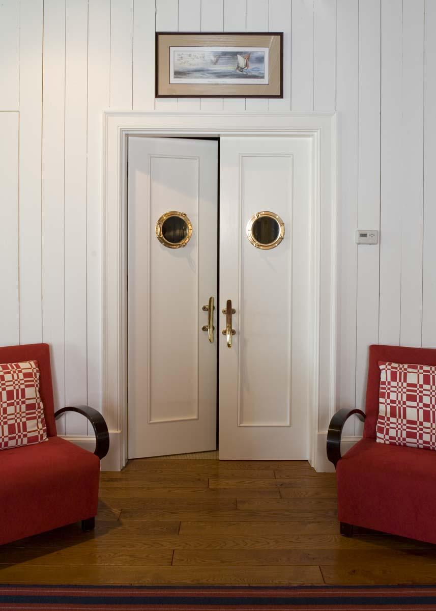 South Carolina Lake House Interior Doors