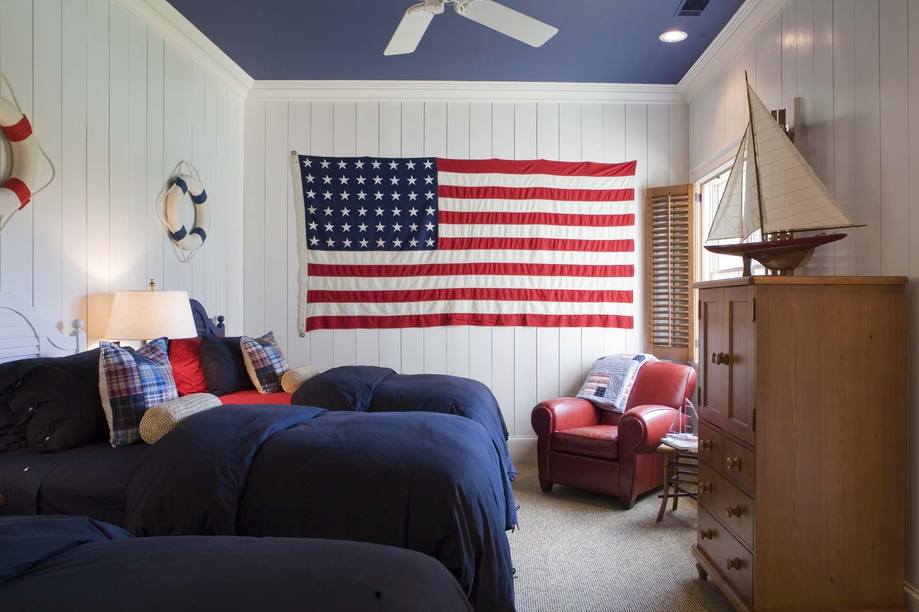 South Carolina Lake House Guest Room