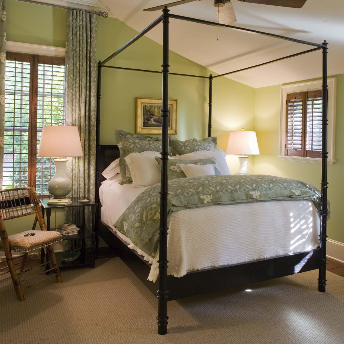 South Carolina Lake House Bedroom
