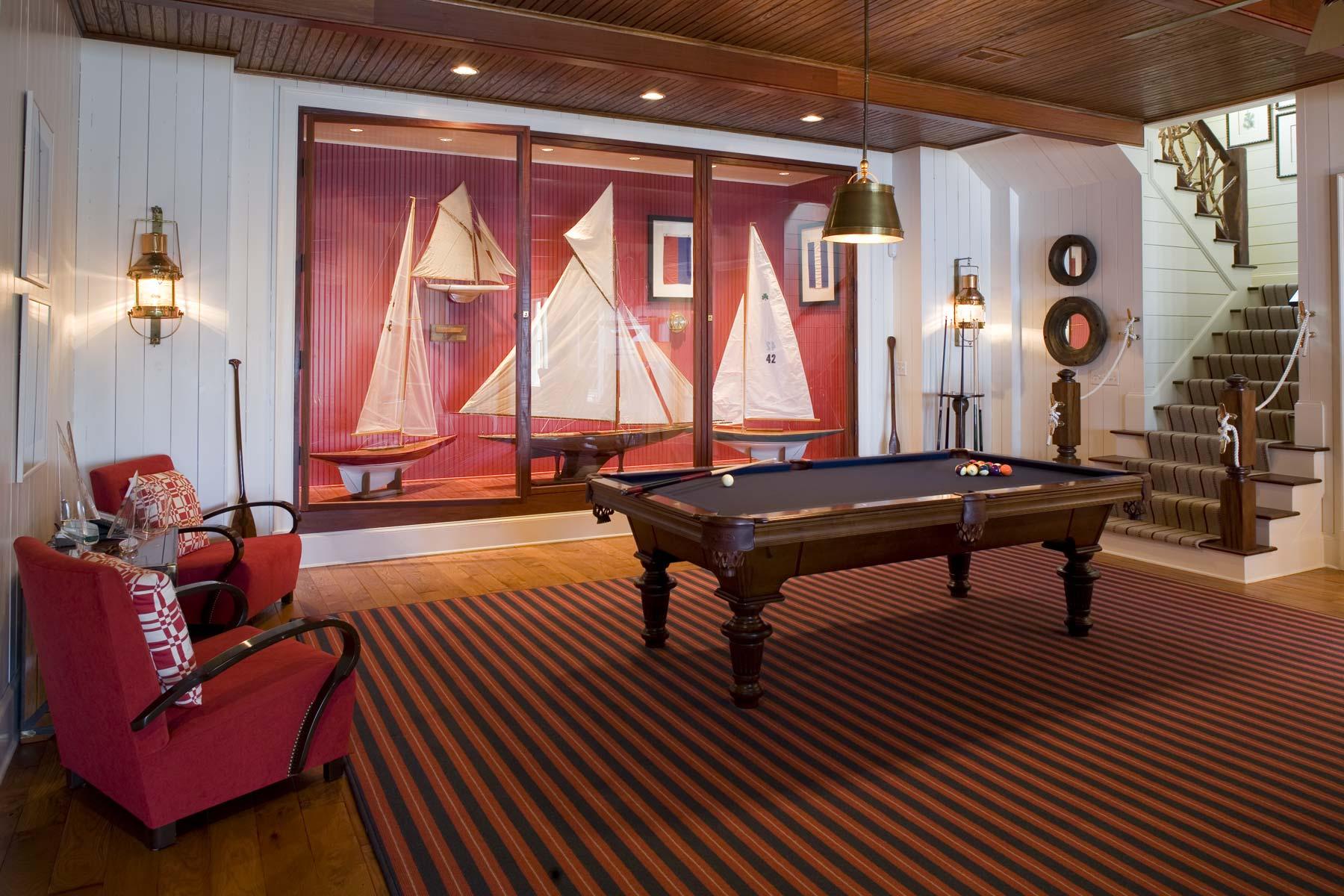 South Carolina Lake House Recreation Room