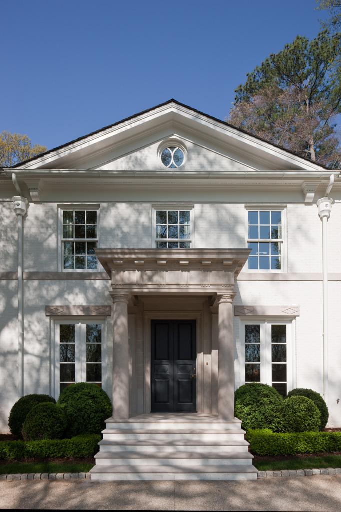 Morris House Entrance