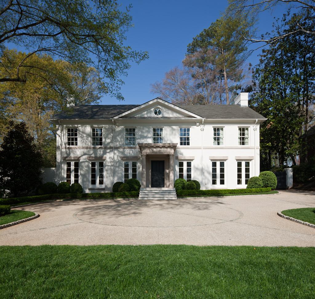 Morris House Facade