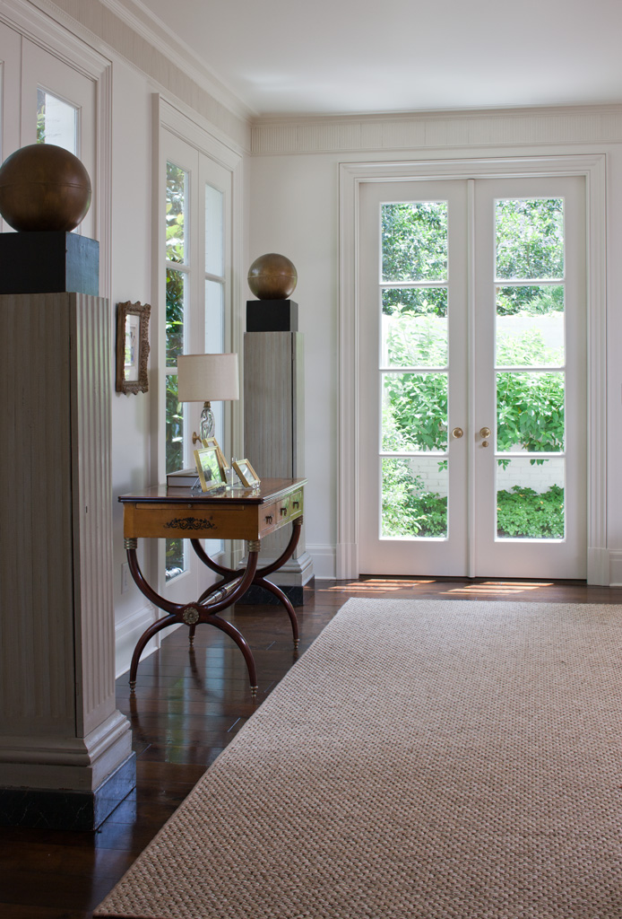 Morris House Family Room Detail