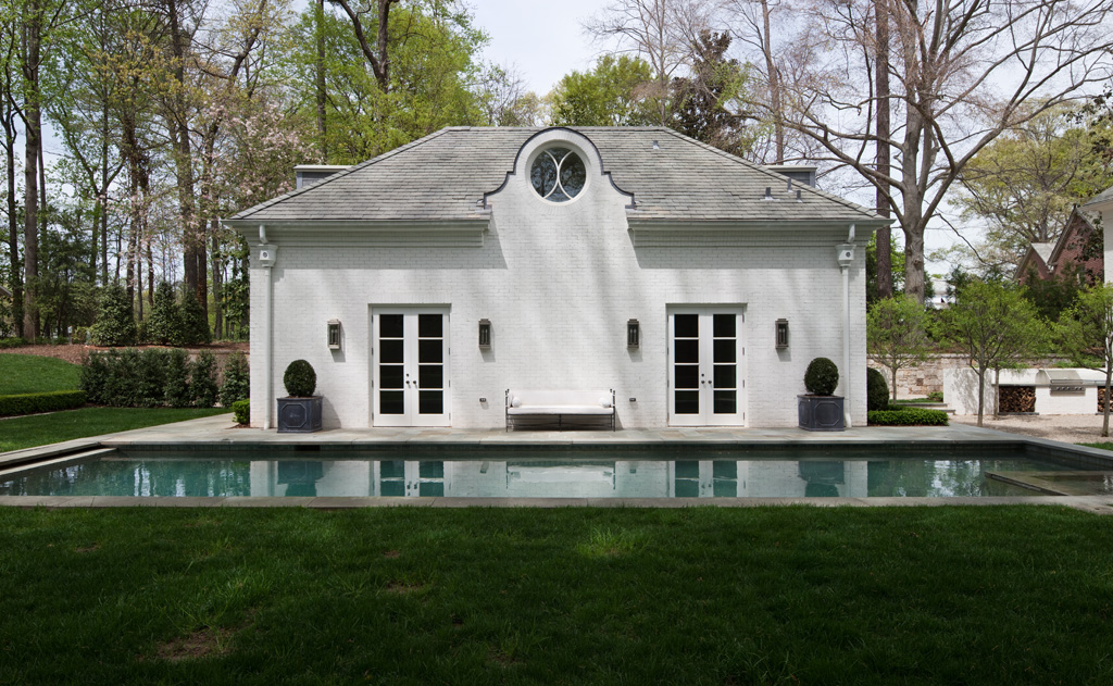 Morris House Poolhouse