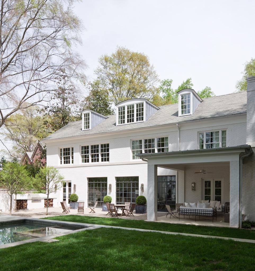 Morris House Rear Lawn