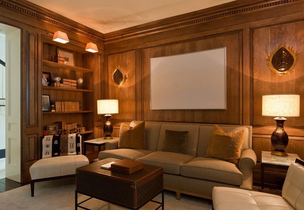 Morris House Paneled Study
