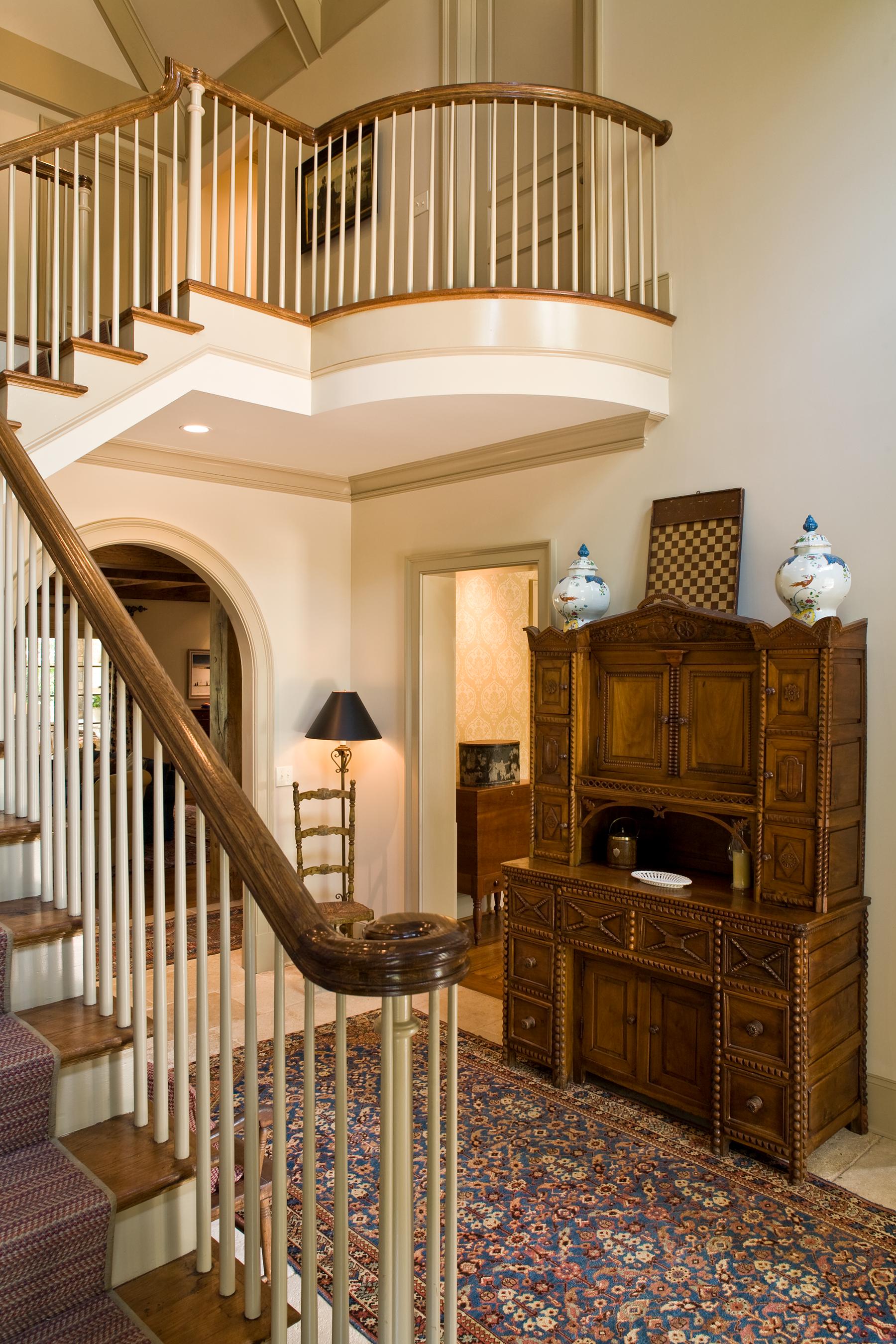 Gray Gables Foyer & Stair
