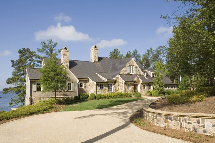 Driveway, South Carolina Lake House   William T. Baker