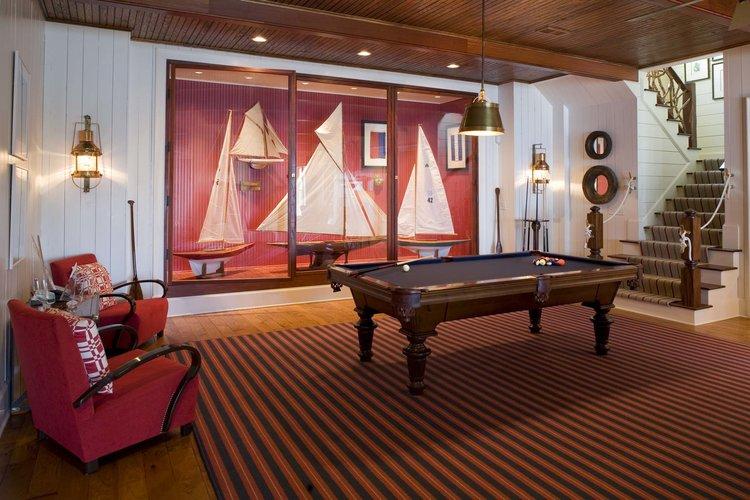 Rec Room, South Carolina Lake House   William T. Baker
