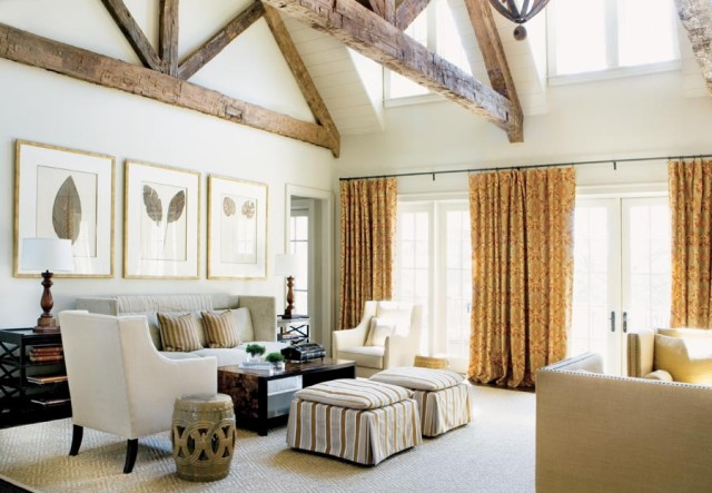 Lounge, Lake Oconee Retreat | William T. Baker