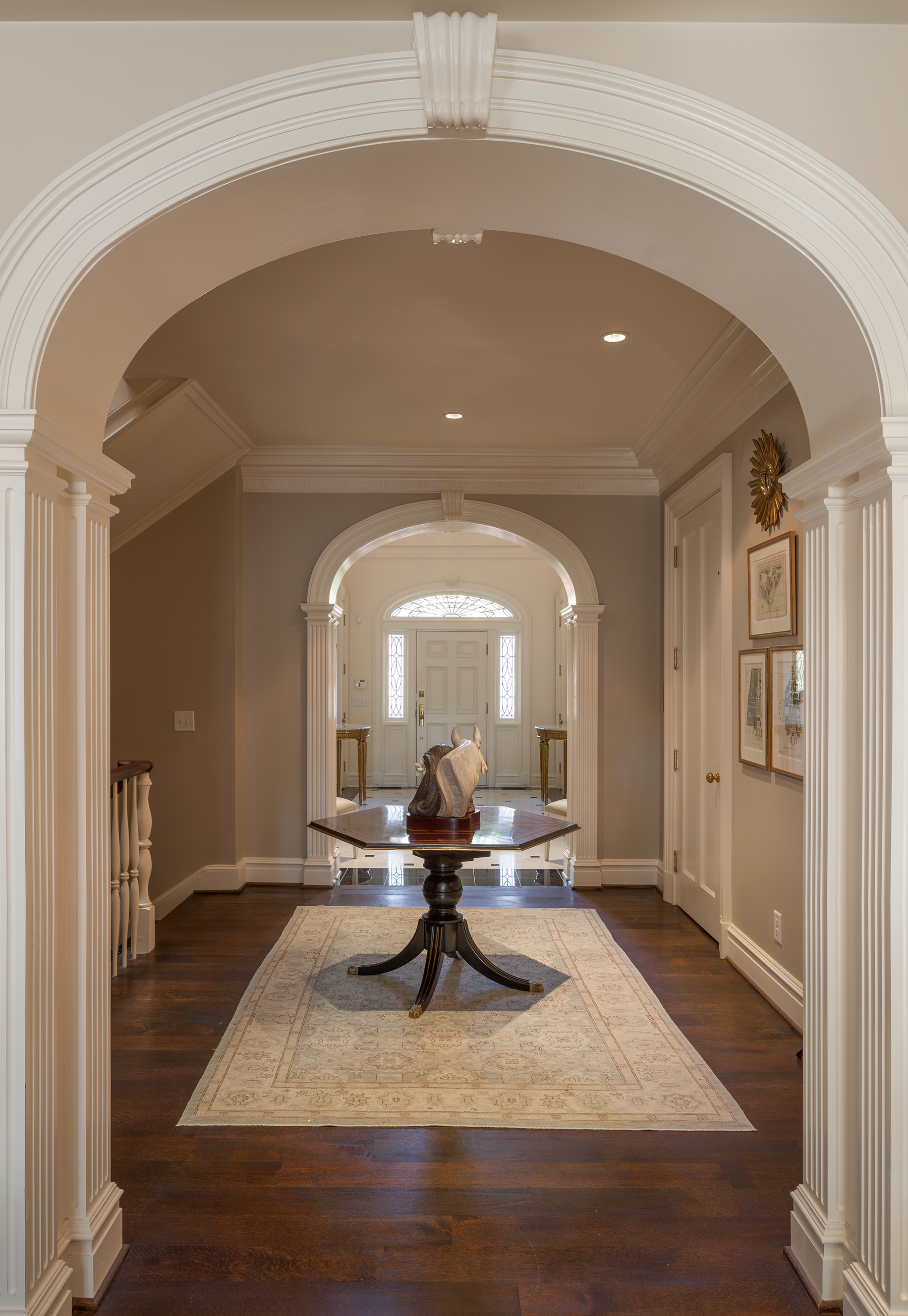 Arched Doorway, Francis Palmer Smith House | William T. Baker