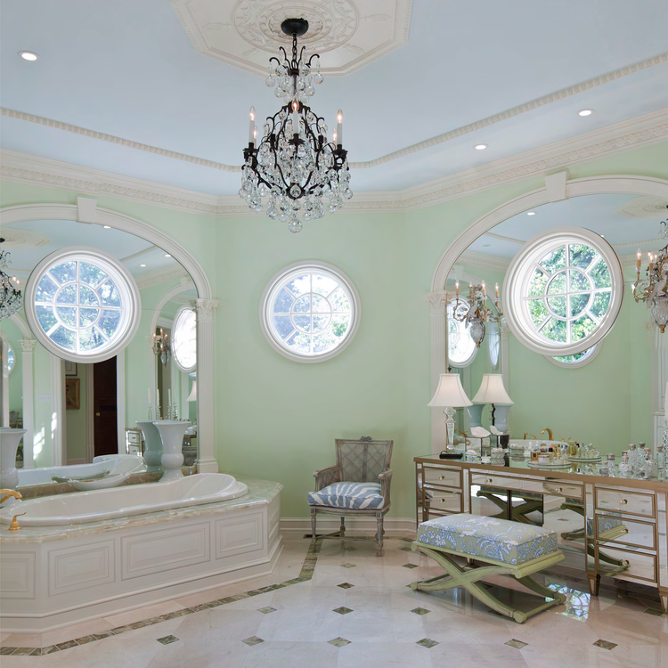 Master Bath, Louisville Estate | William T. Baker