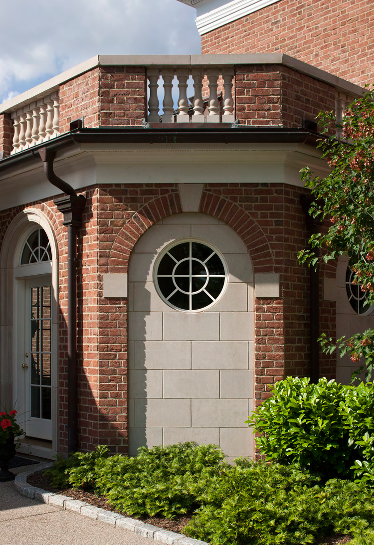Balcony Detail, Louisville Estate | William T. Baker