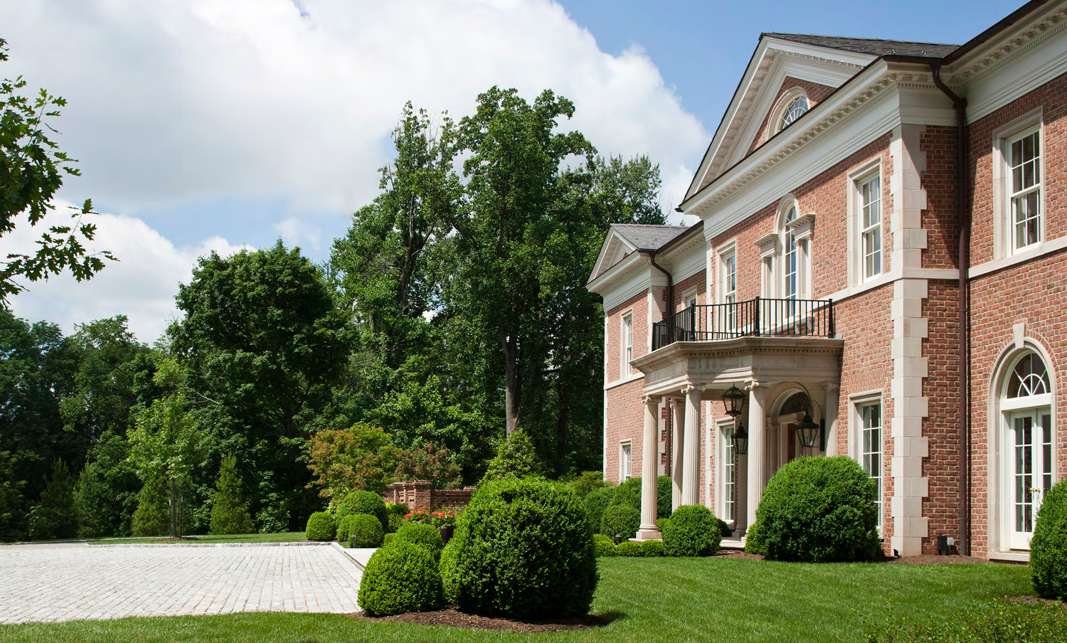 Facade, Louisville Estate | William T. Baker