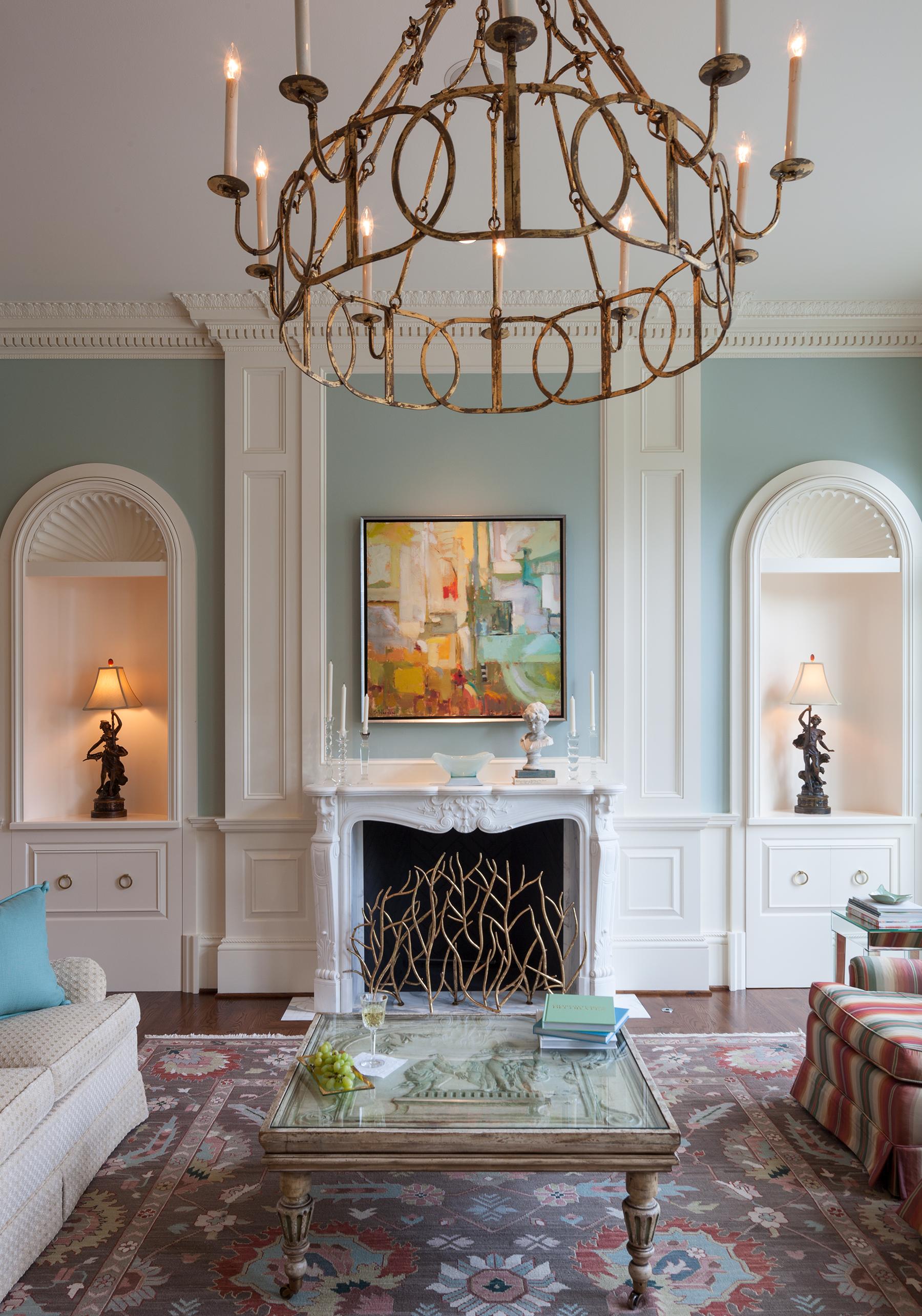 Living Room, The Johnson House | William T. Baker