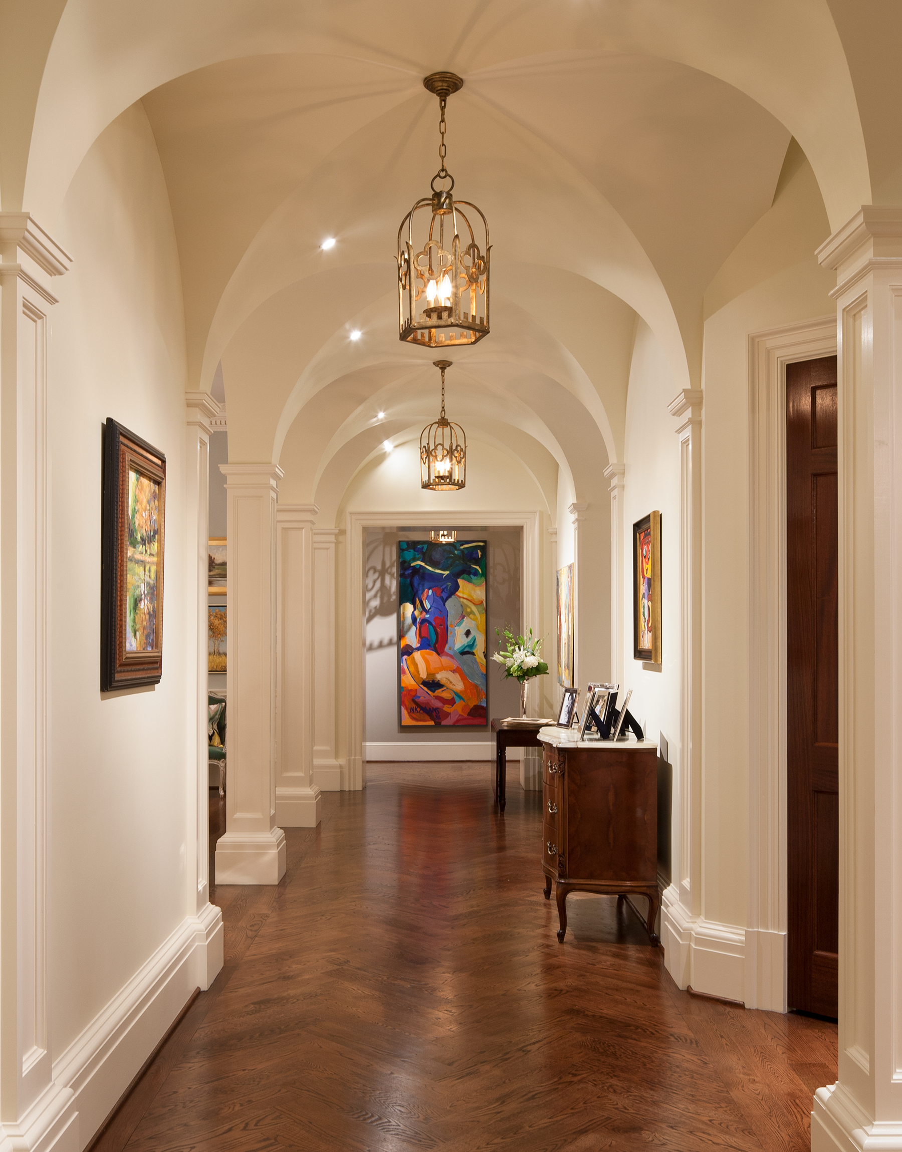 Gallery Hall, The Johnson House | William T. Baker