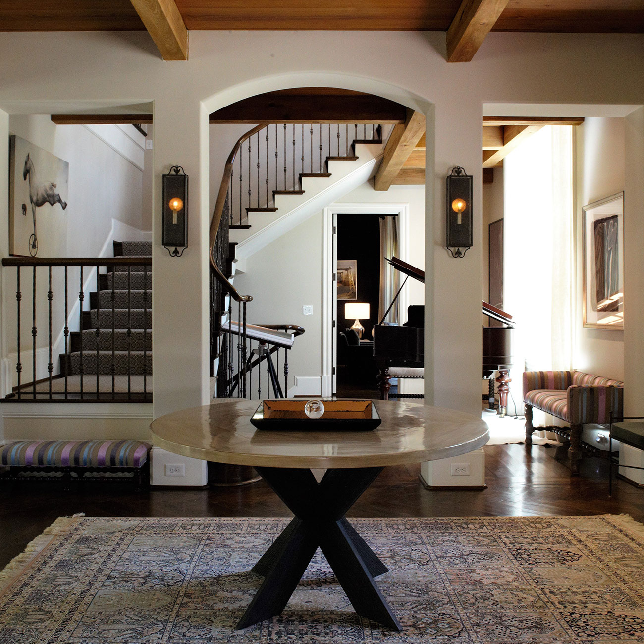 Foyer, Wooded Hill Estate | William T. Baker