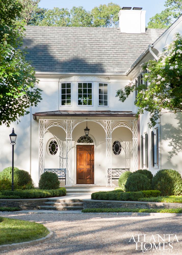 Residential design by William T. Baker