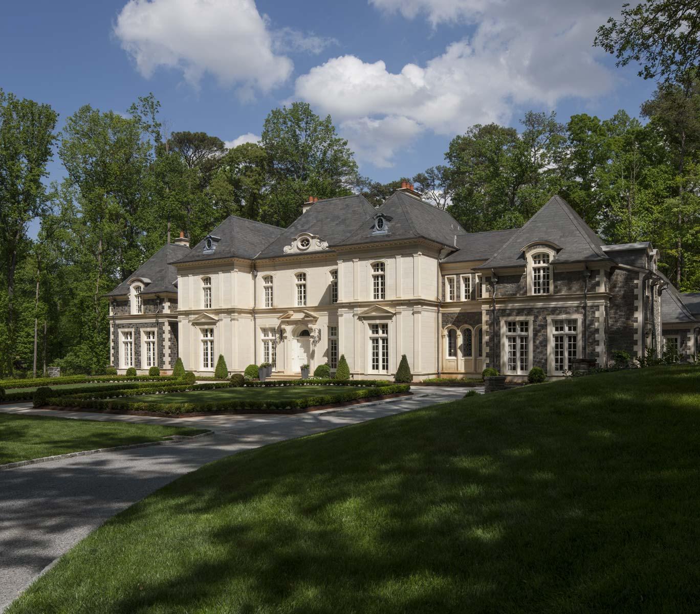 Limestone Chateau   William T. Baker