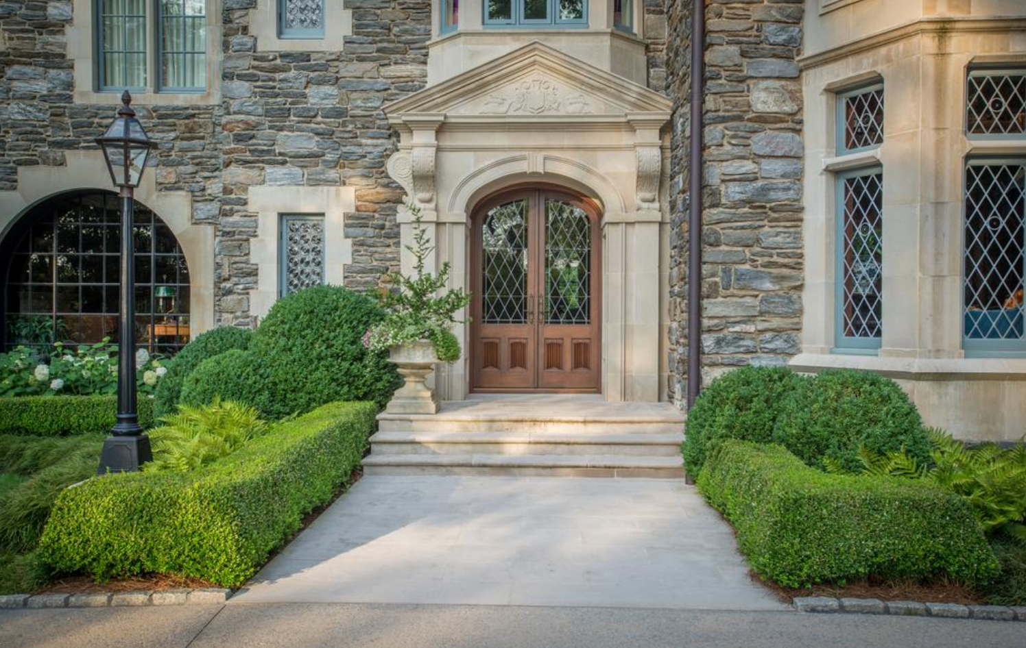 Arched Entrance - Graggamoore Estate, William T. Baker