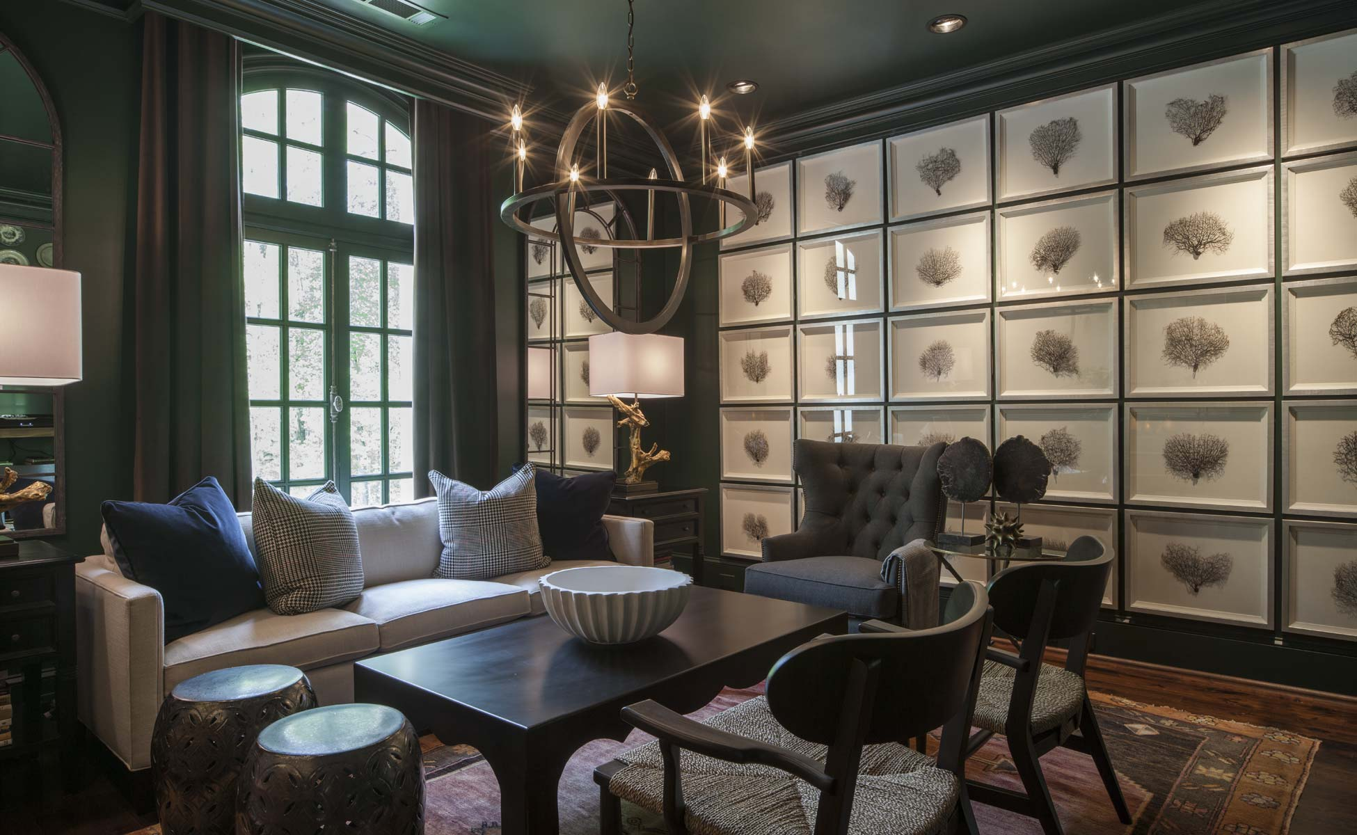 Limestone Chateau Game Room | William T. Baker