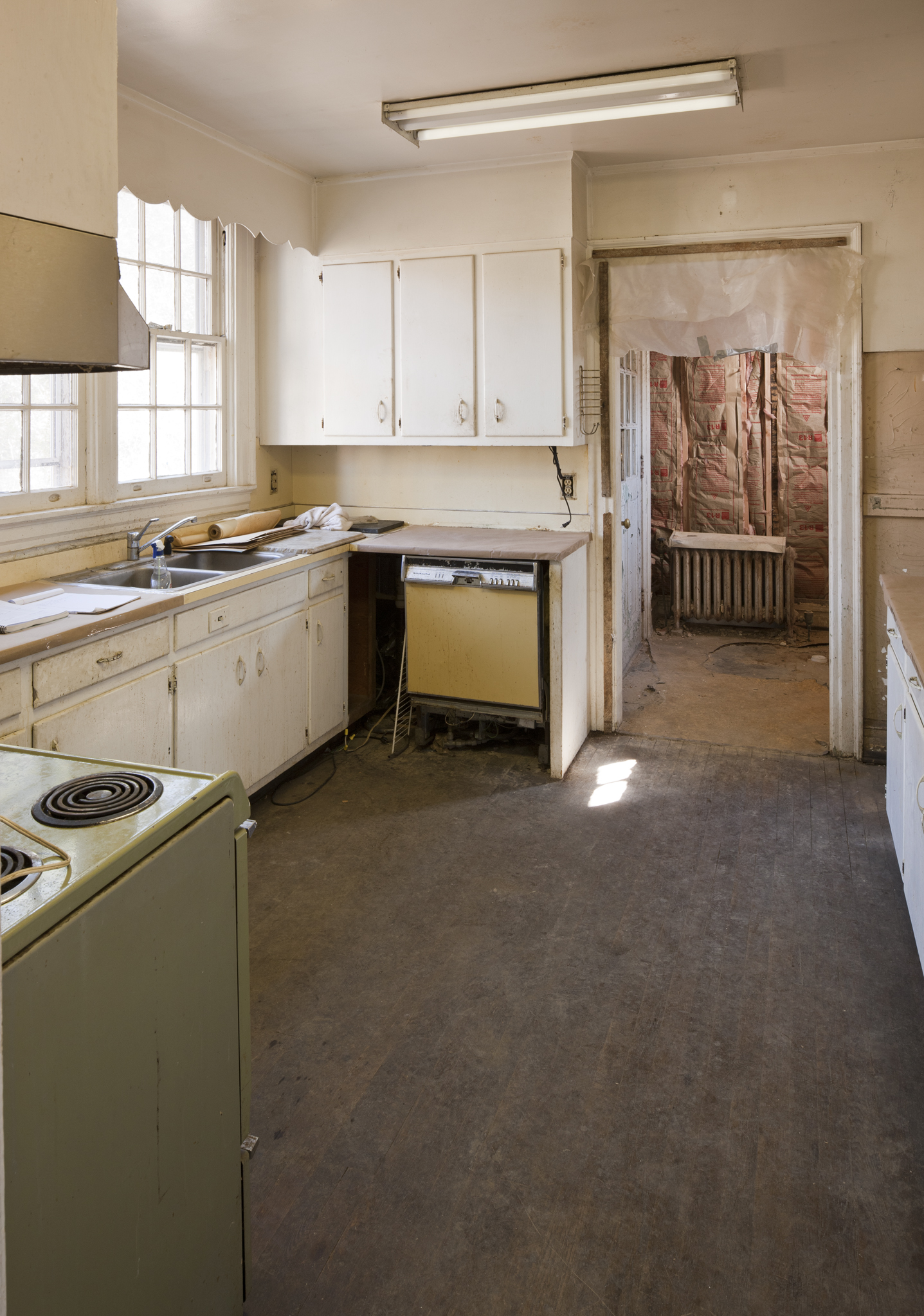 Kitchen (Before) - Francis Palmer House, William T. Baker
