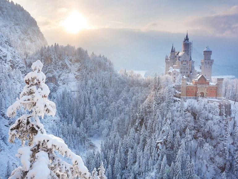 William T. Baker | Neuschwanstein Castle in Bavaria, Germany