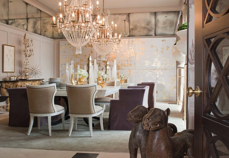 This glamorous dining room for hosting events and celebrating life's great moments.