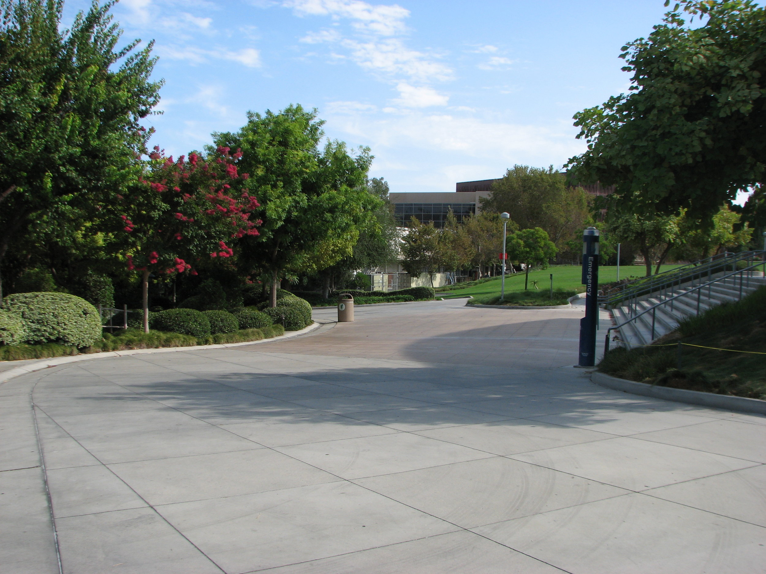 Cal State Polytechnic University Pomona - Redesign of pedestrian walkways and parking lot areas on the Cal-Poly campus for ADA compliance