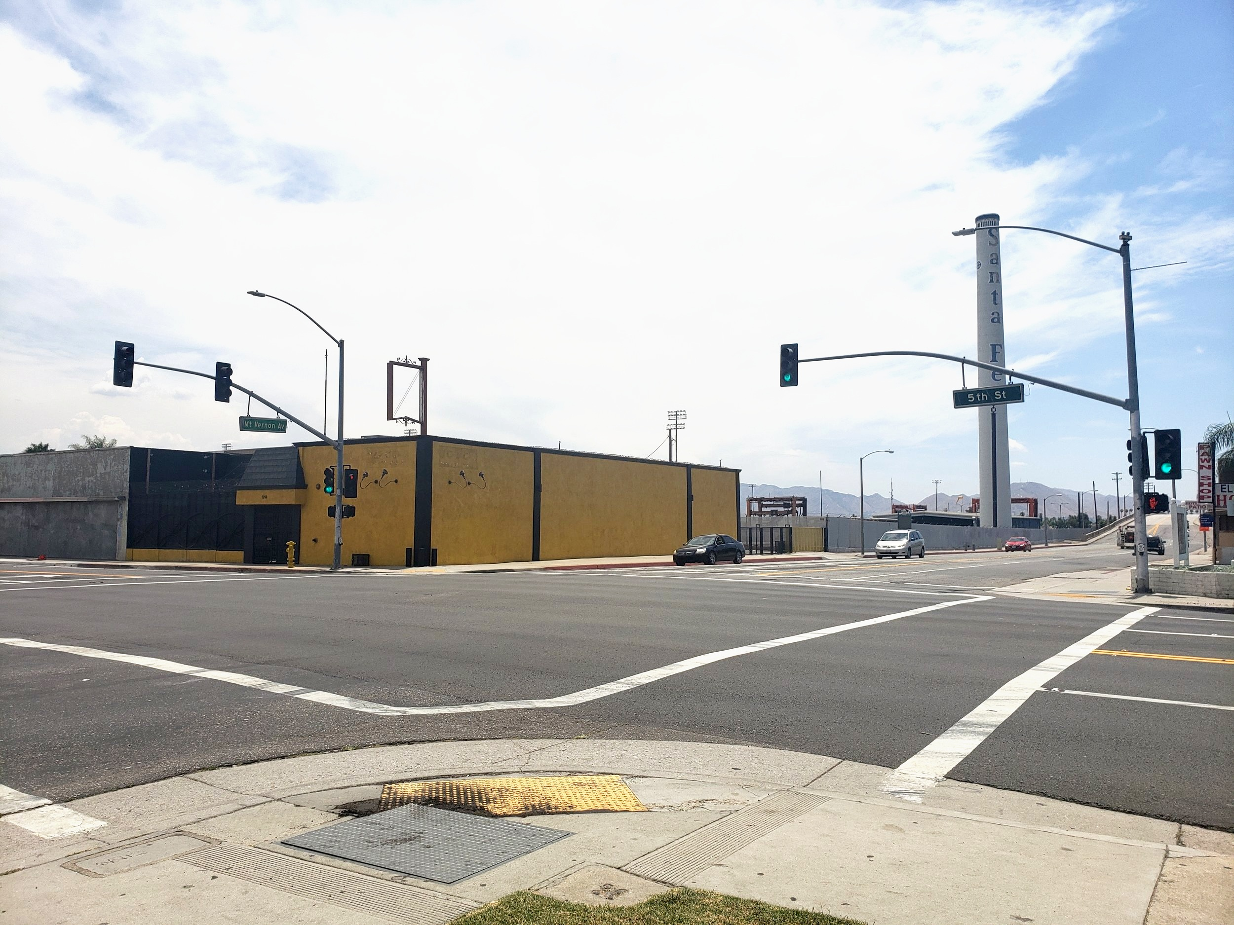 Traffic Signal Modification - San Bernardino Economic Redevelopment Agency