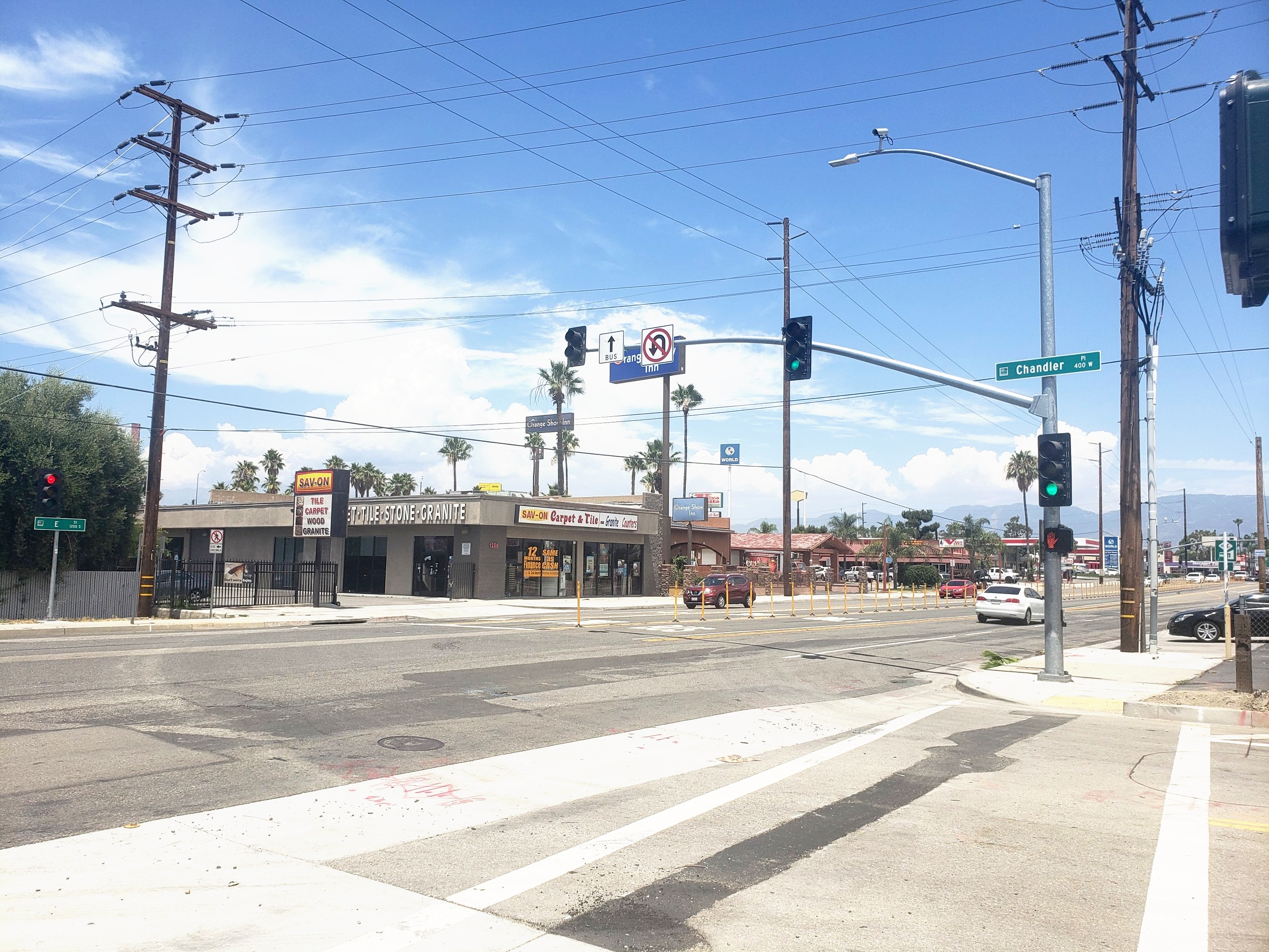 Traffic Signal Design & Installation - San Bernardino Municipal Water Department