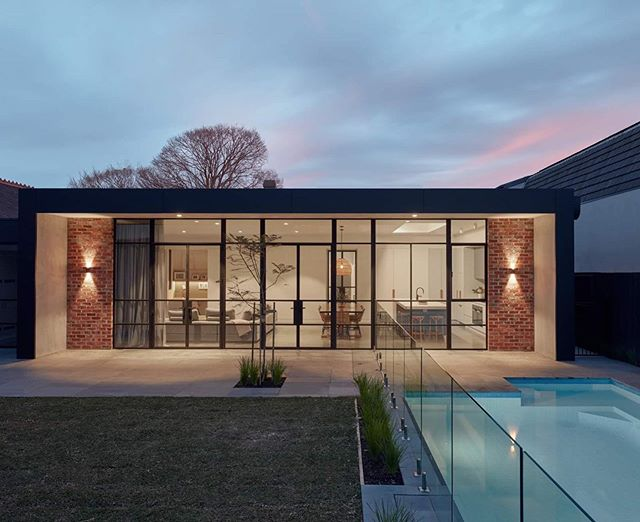 Architecture at its finest. Great 📷 of our steel windows and doors at this stunning residential property in Brighton. Swipe left to see the drawing.  #steel #steeldoors #steelwindows #steeldesign #architecture #archidaily #archidesign #archilovers #brighton #residential