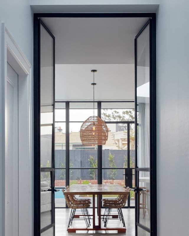Property in Brighton headlining our steel doors.⠀⠀⠀⠀⠀⠀⠀⠀⠀ #steeldoors #steeldesign #swisssteel #blacksteel #blackdoors #doubledoors #frenchdoors #architecture #archidaily #archidesign #australia
