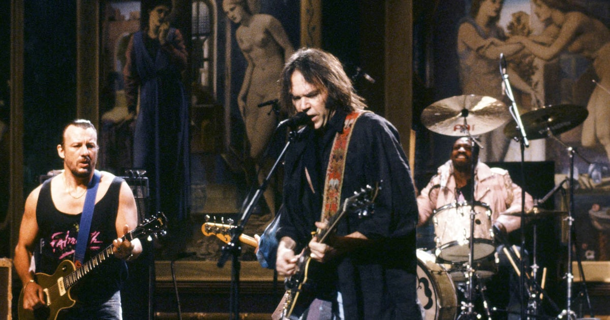 Back In the Day... - Niko produced and mixed Neil Young's performance for the September 30, 1989 episode of Saturday Night Live! Check out the video HERE!