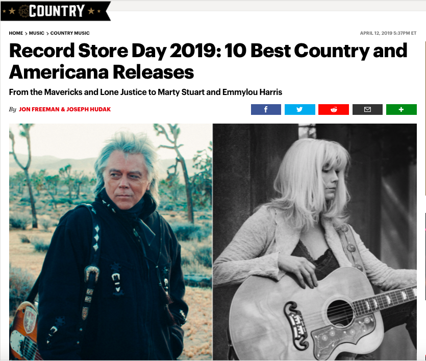 The Maverick's Project was ranked one of the top 10 Best Country and Americana Releases by Rolling Stone - Read the full article here!