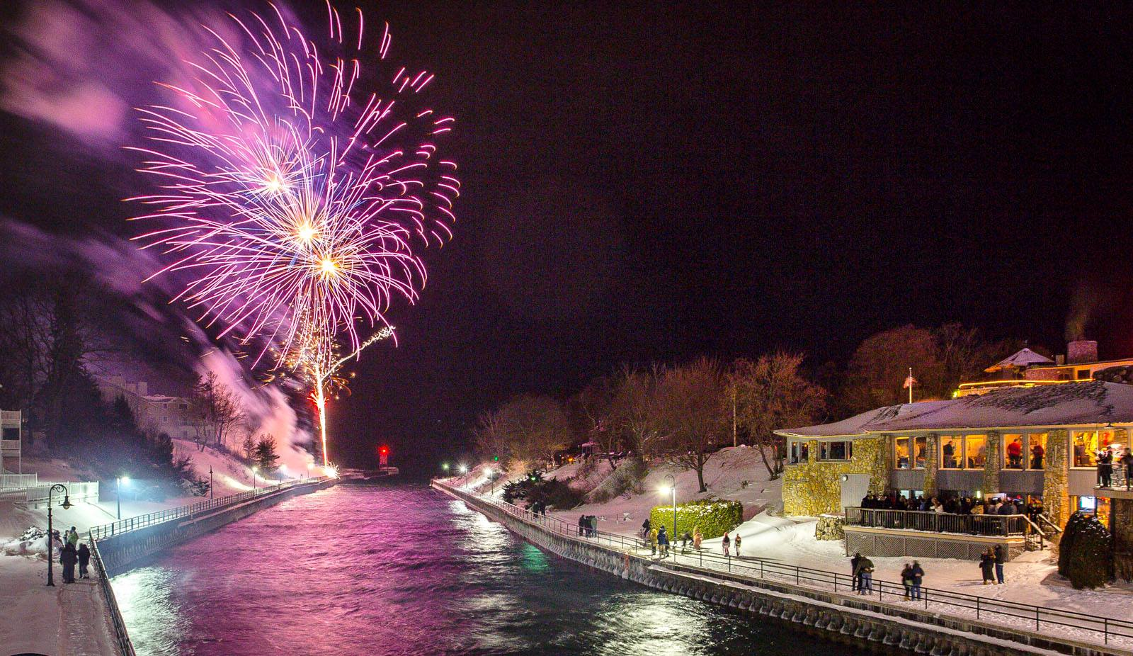 NYE Bridge Drop 2018 - In Charlevoix for New Year's Eve? Join us for the 2018 NYE Bridge Drop Celebration! Click below for Event Details!