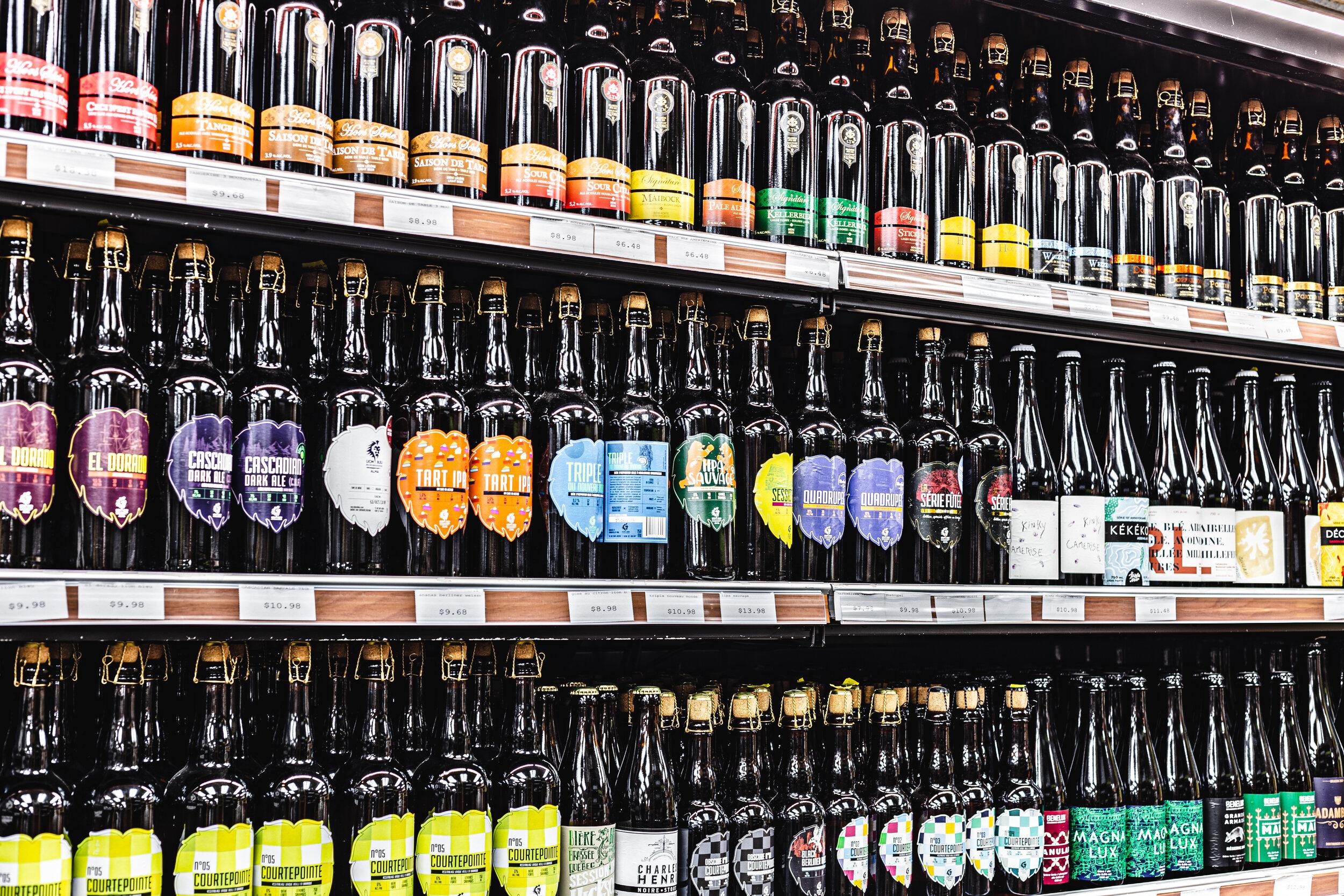 Boire local - Parce que prendre une bière de chez nous sa fait pas de tord