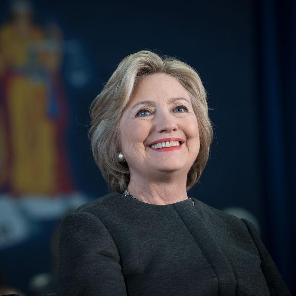 The Honorable Hillary Rodham Clinton - former U.S. Presidential candidateformer U.S. Secretary of State
