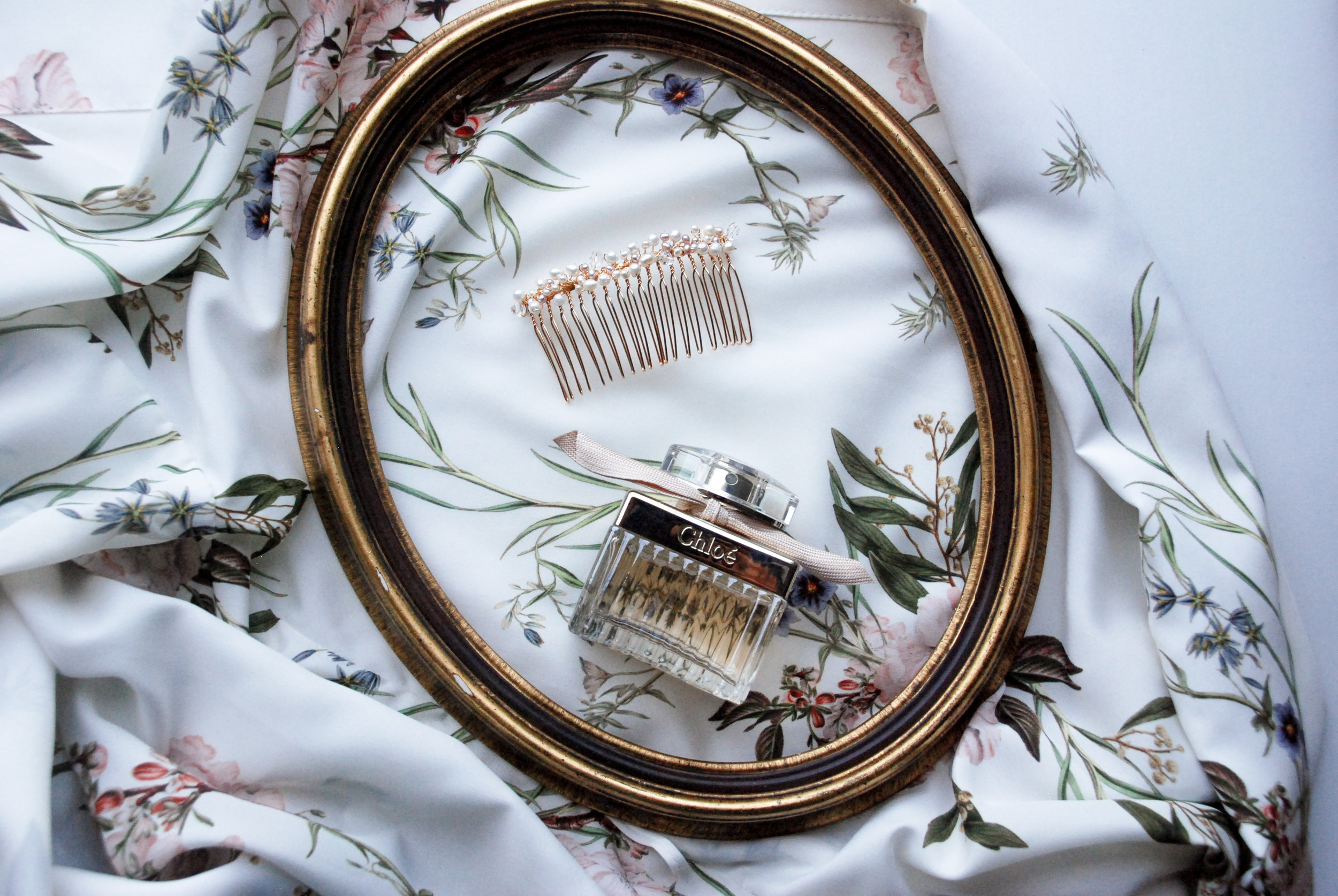 Shirley & Audrey:  Beatrice hair comb
