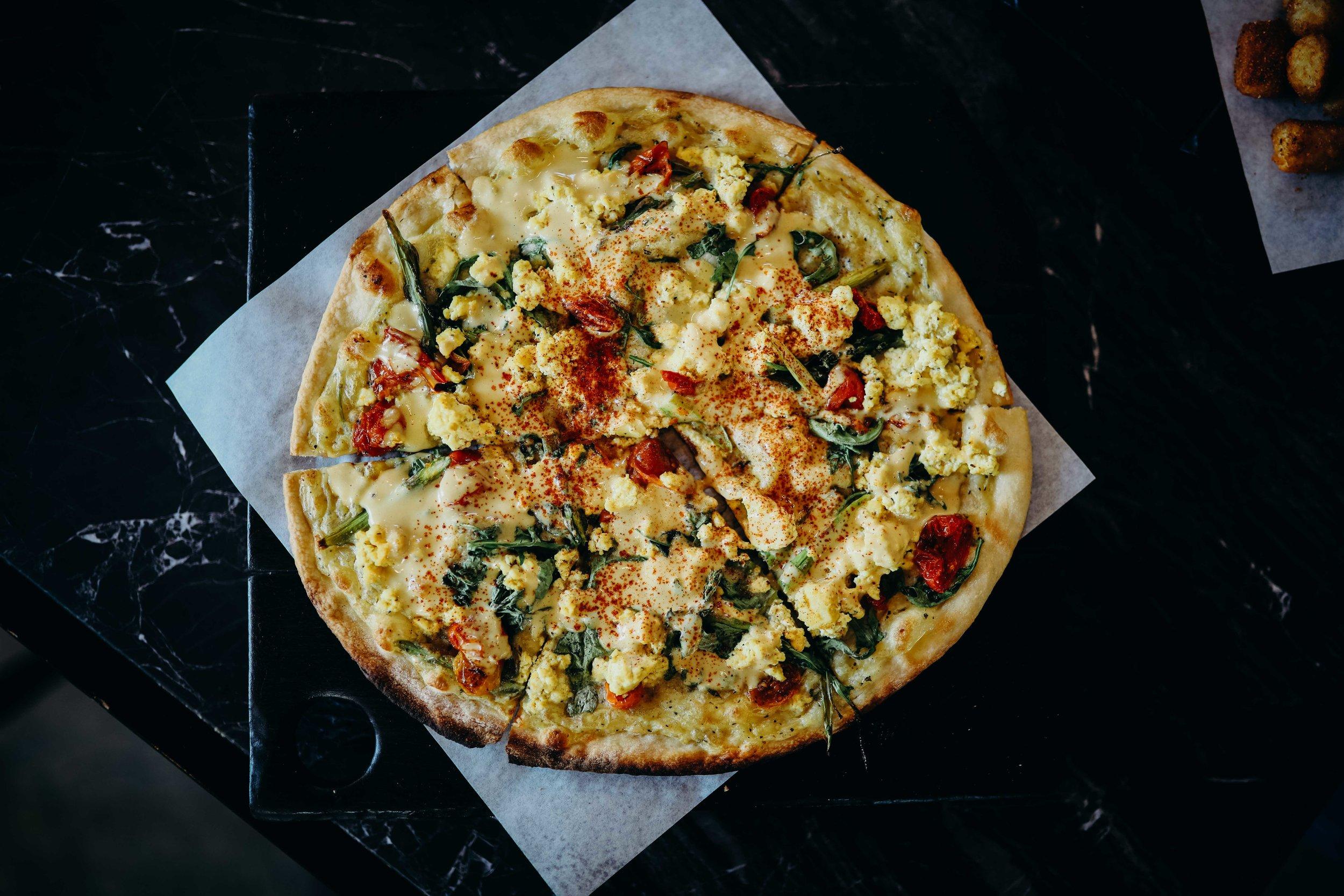 Vegan Pizza//Virtuous Pie